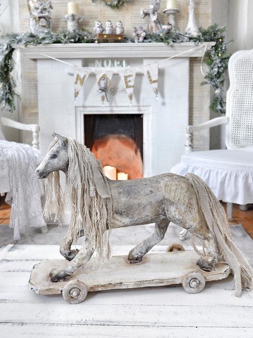 Vintage Style Horse Decoration
