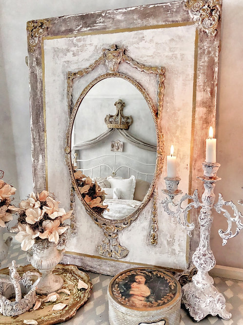 Magic Antiqued Mirror