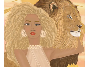 Astro Illustration - Femme Lion : qui est-elle?