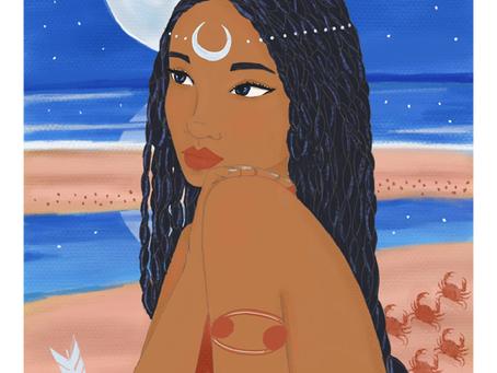 Astro Illustration - Femme Cancer : qui est-elle?