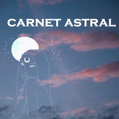Commandez votre carnet astral (thème natal)