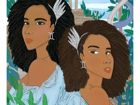 Astro Illustration - Femmes Gémeaux : qui sont-elles?