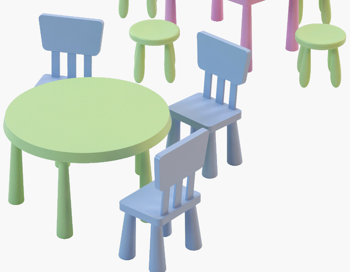 Kiddy Table & Stools