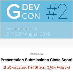 Presentation Submission Deadline!