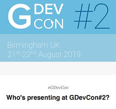 Who's Presenting at GDevCon2?
