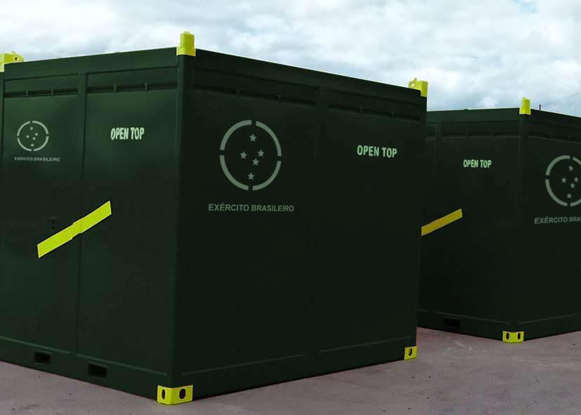 Containers Militarizados