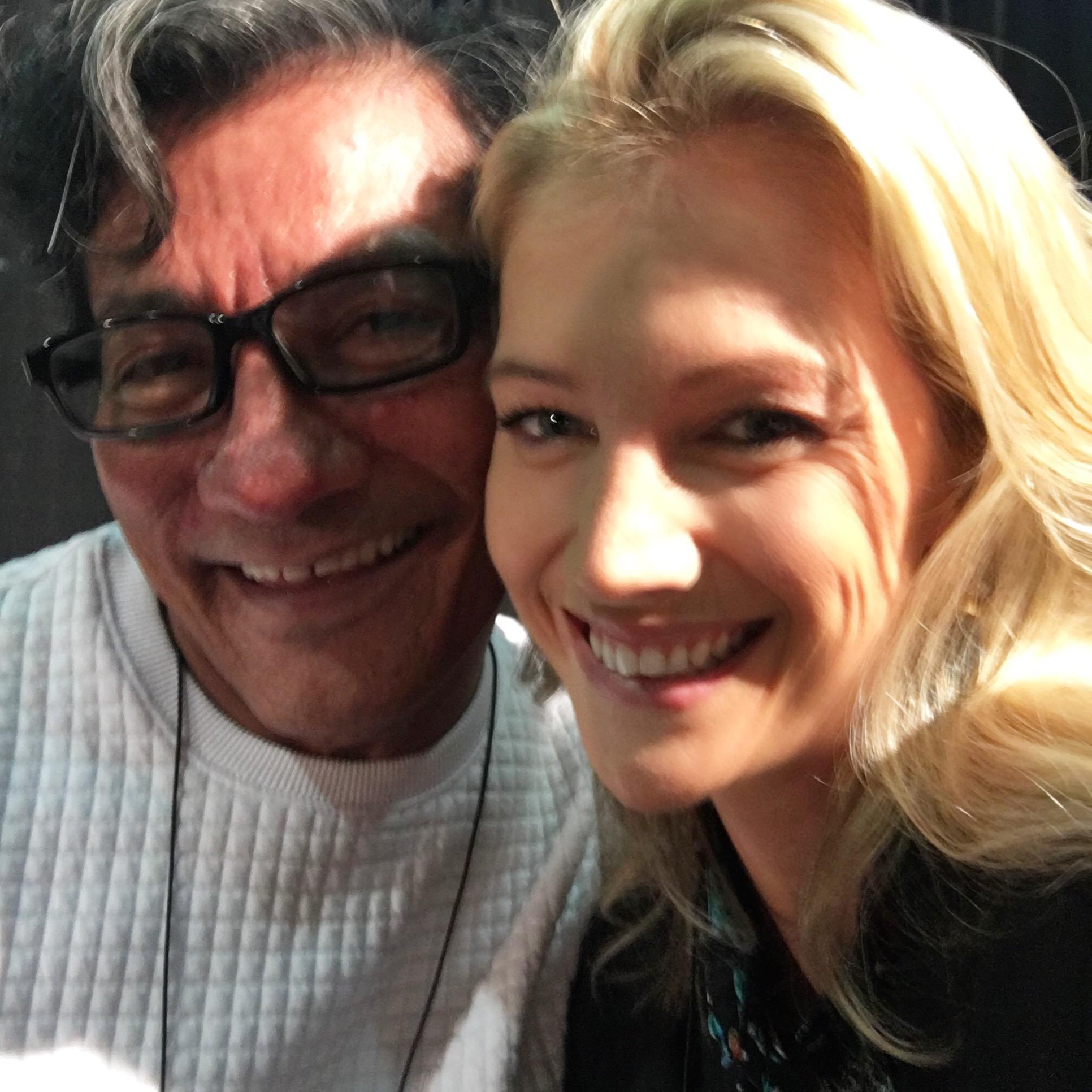 with Sam Villa
