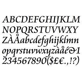 刻印フォント No,3