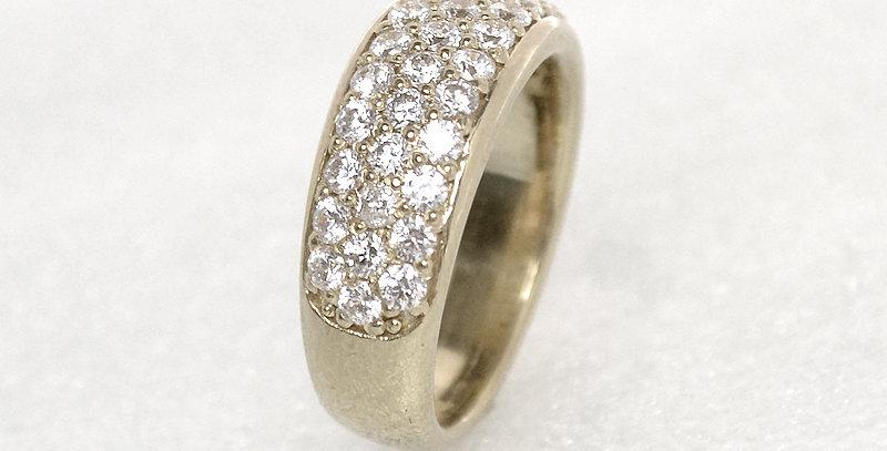 jewelinity ジュエリニティ ダイヤモンドパヴェリング K18WG(18金ホワイトゴールド)