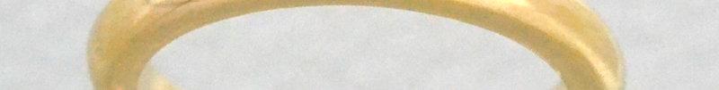 【特別プレゼント価格】一粒ダイヤモンド ラウンドリング K10YG(10金イエローゴールド)