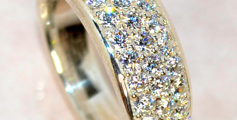 jewelinity ジュエリニティ ダイヤモンドパヴェリング pt900(プラチナ)