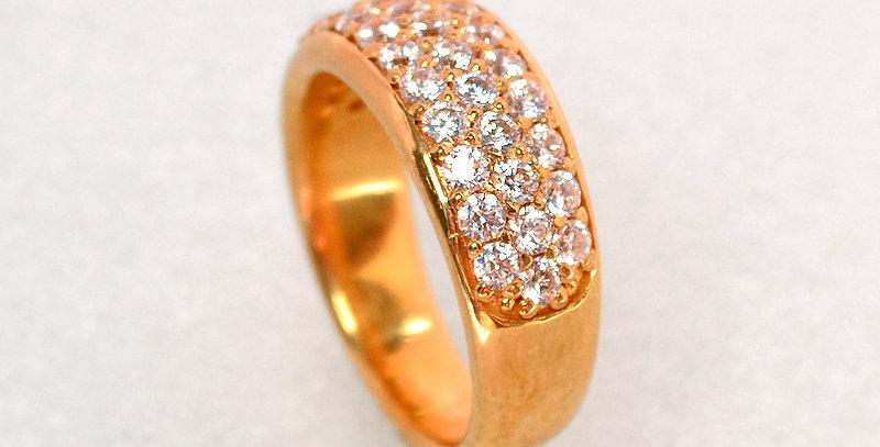 jewelinity ジュエリニティ ダイヤモンドパヴェリング K18PG(18金ピンクゴールド)