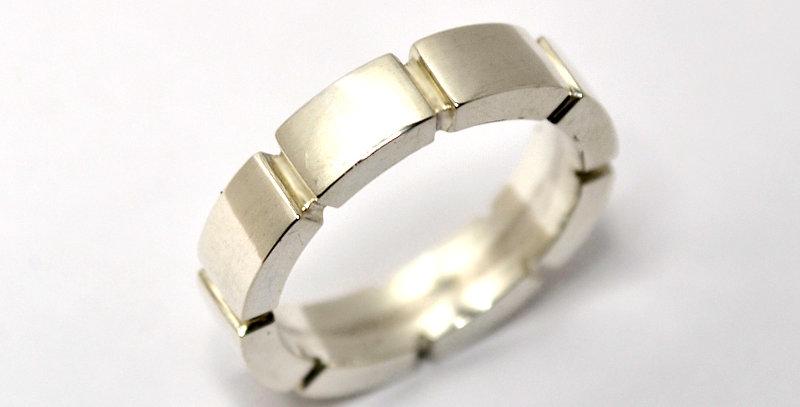 jewelinity  ジュエリニティ エイトブロックリング pt900(プラチナ)