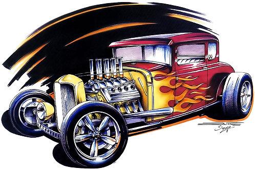 Purple Coupe POS-333