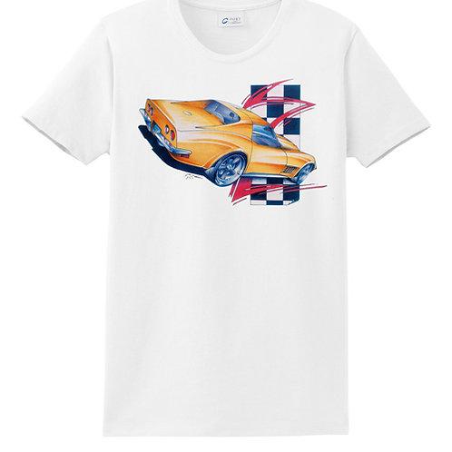 Yellow Corvette POS-412