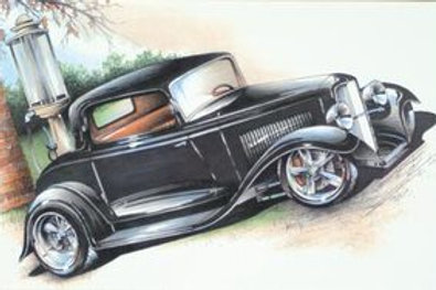 32 3-WINDOW COUPE HOT ROD SS181