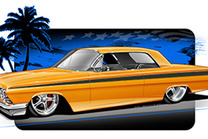 62 CHEVY HOT ROD EB1501