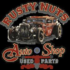 RUSTY NUTS AUTO SHOP HOT ROD T-SHIRT WS13645A