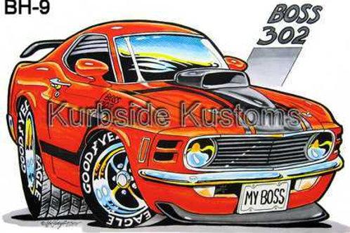 BOSS 302 HOT ROD BH9