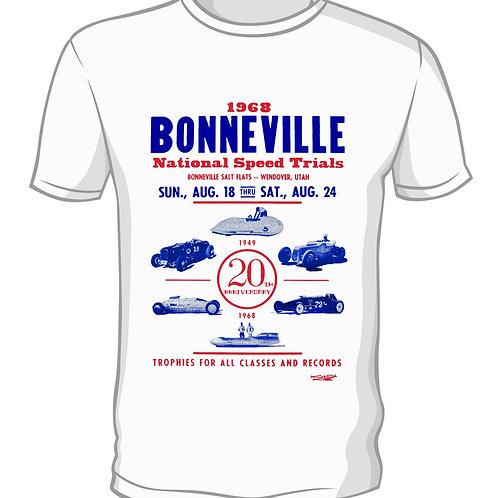 20TH ANNIVERSARY BONNEVILLE SPEED TRIALS VINTAGE MB7