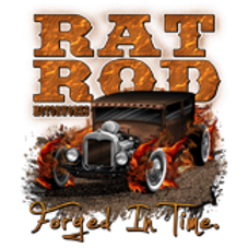 RAT ROD FORGED IN TIME HOT ROD WS16162A