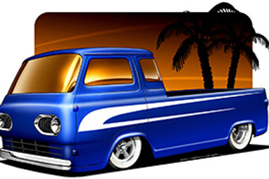 BROCKMEYER ECONOLINE PICKUP HOT ROD EB22