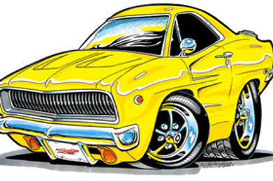 DODGE CHARGER HOT ROD BH54