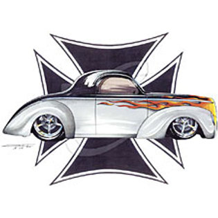 WILLYS COUPE HOT ROD SS177