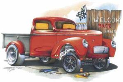 RED WILLY'S GASSER PICKUP SS278