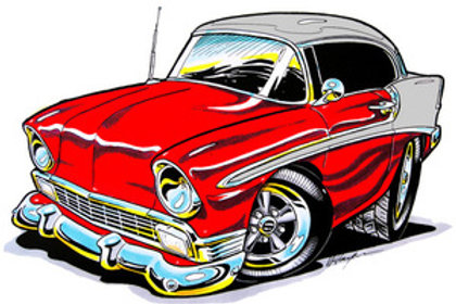 56 CHEVY HOT ROD BH94