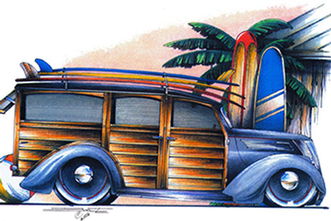 37 WOODIE HOT ROD SS189