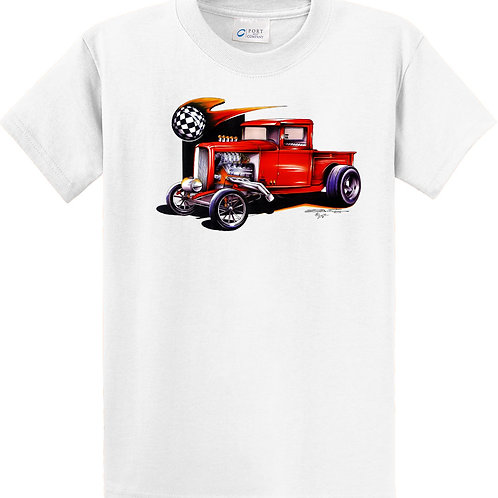 Red Drag Truck POS-343