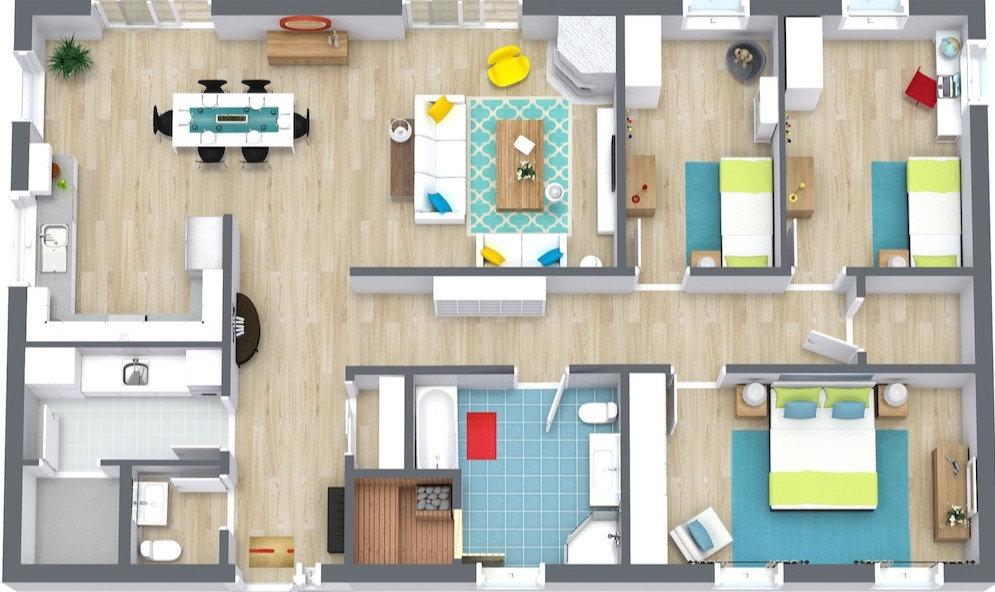 eDesigns Floor Plan