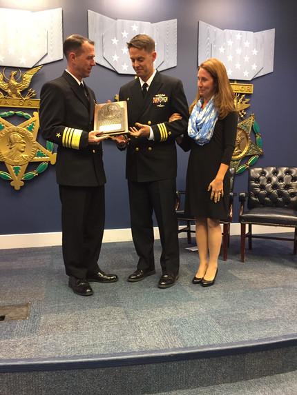Tarheel Boat CO receives Admiral Stockdale Award