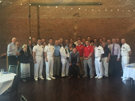 Captain and Crew of SSN 777 Visit North Carolina