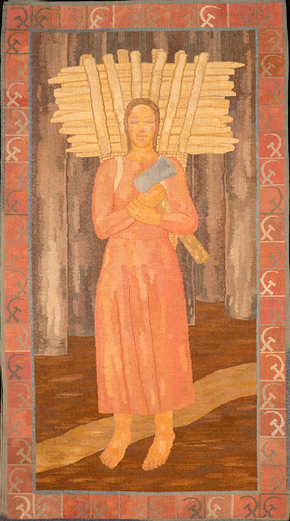Ferenczy Noémi: Rőzsehordó nő, 1924-25