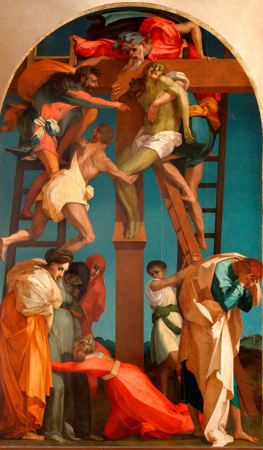 Rosso Fiorentino: Levétel a keresztről, 1521
