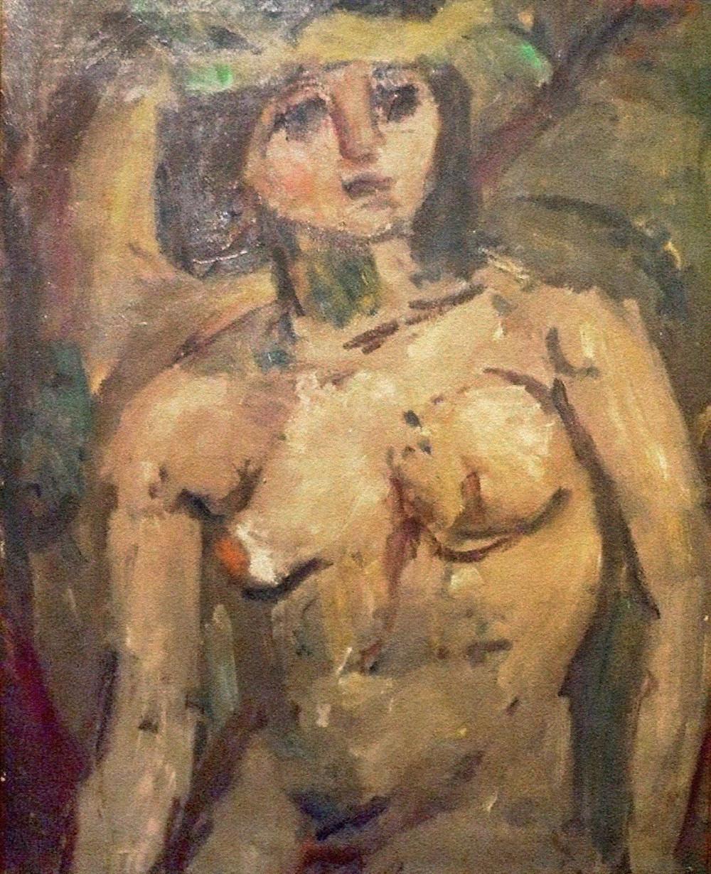 Czóbel Béla: Múzsa, 1930