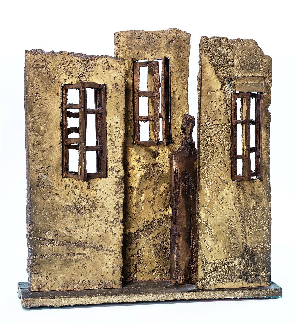 Schaár Erzsébet: Három fal, 1968