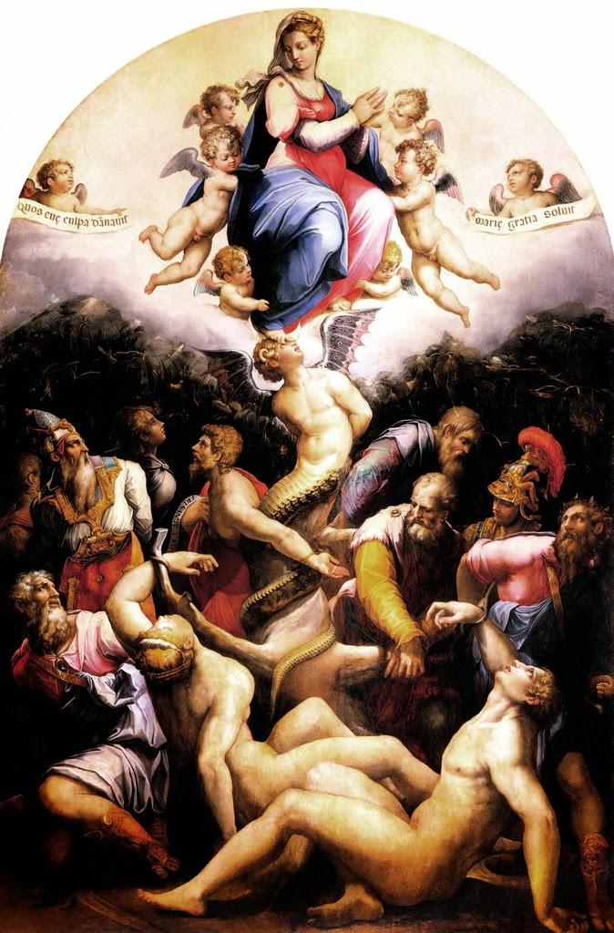 Giorgio Vasari: Szeplőtelen fogantatás, 1540 - 41