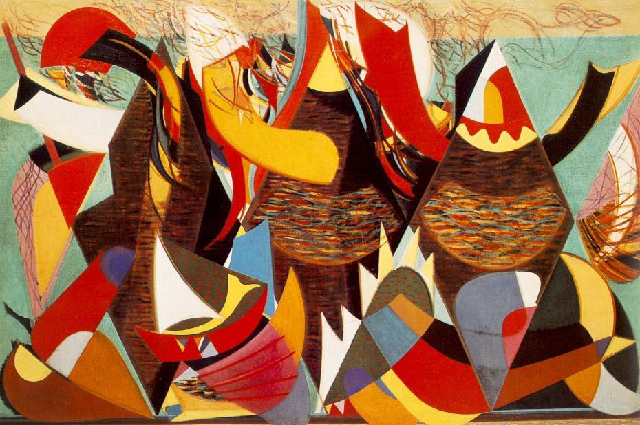 Martyn Ferenc: Hárman a tengerparton, 1943