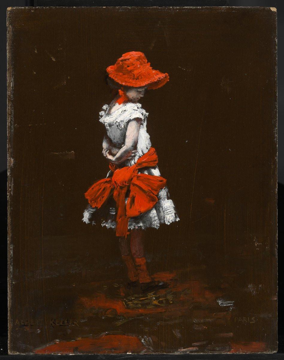 Albert von Keller: A kis párizsi, 1900 k