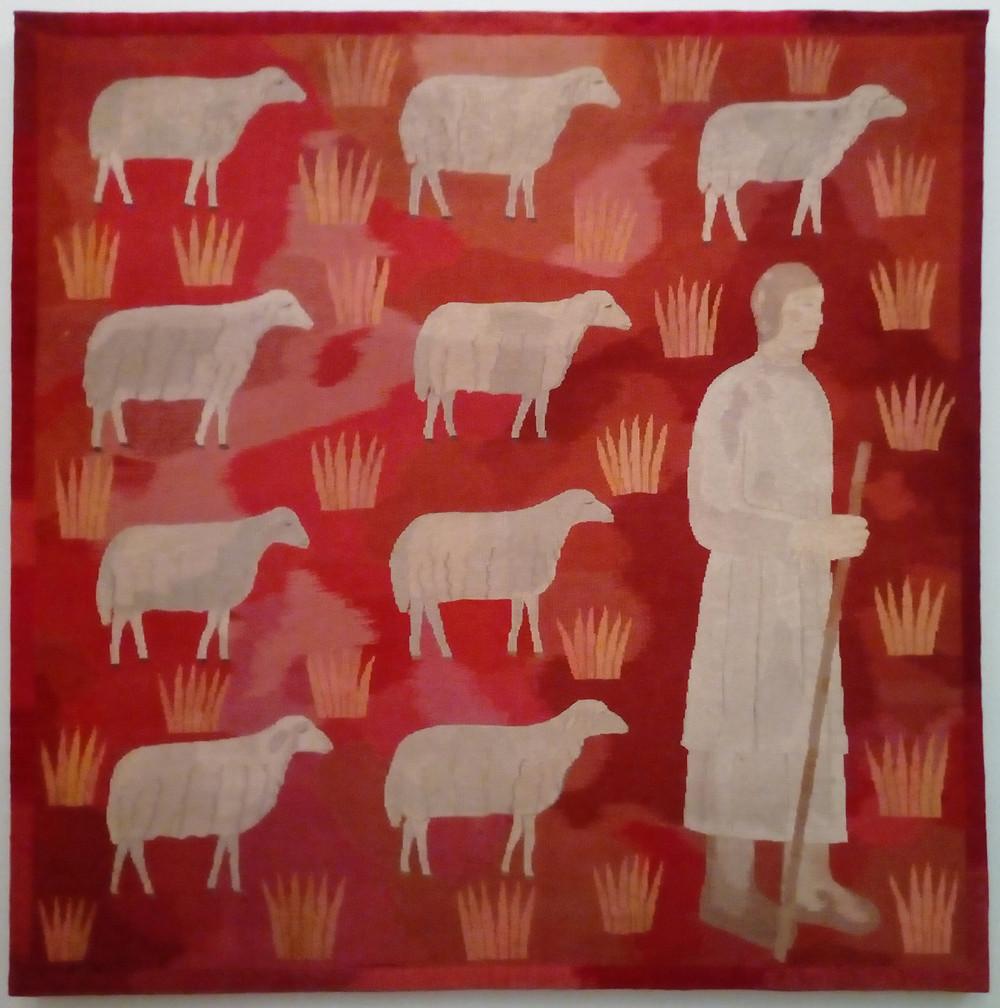 Ferenczy Noémi: Pásztor bárányokkal, 1931