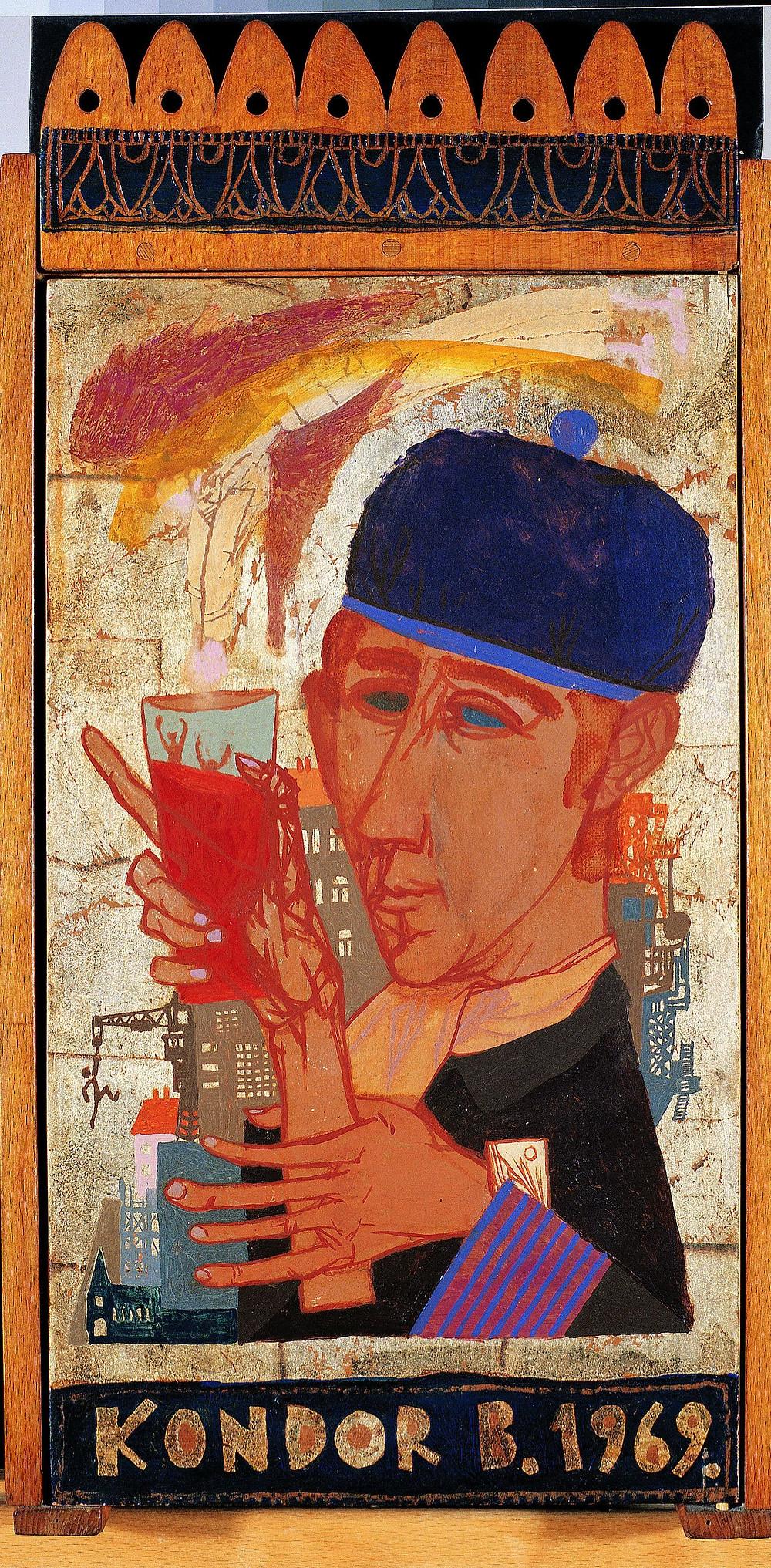 Kondor Béla: Fali szekrény, 1969
