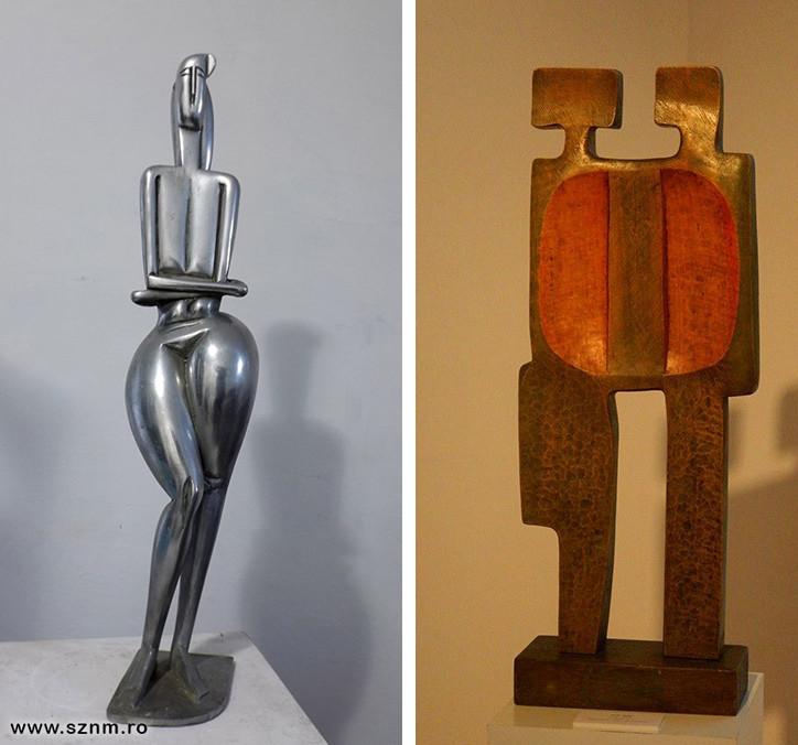 Korondi Jenő: Éva, 1970-es évek; Jecza Péter: Ikrek, 1970-es évek