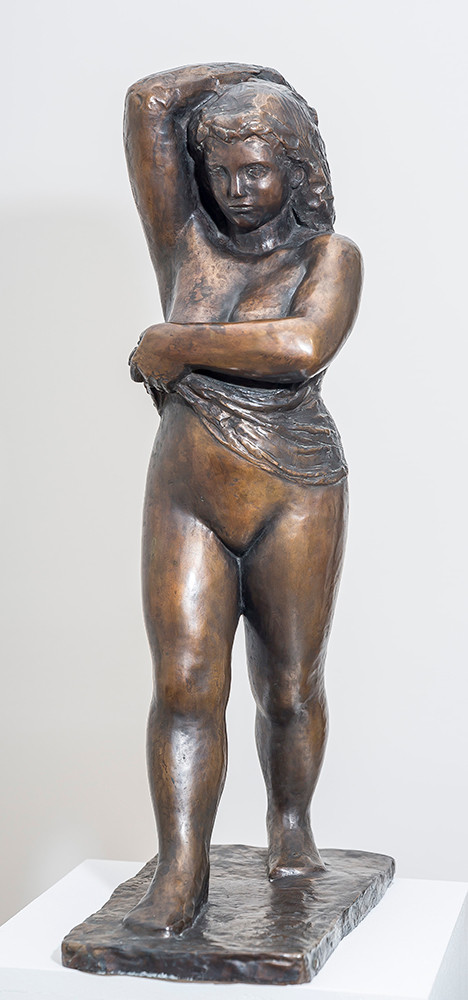 Ferenczy Béni: Vetkőző nő, 1941