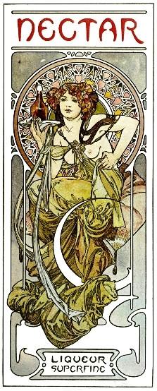 Alfons Mucha: Document décoratifs mintalap, 1902