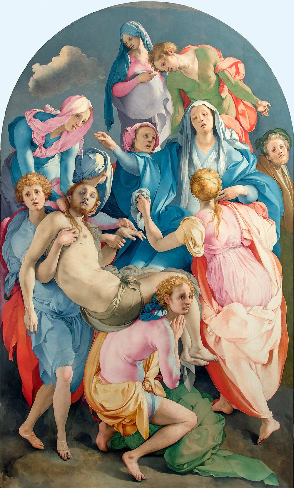 Pontormo: Levétel a keresztről, 1525‒28
