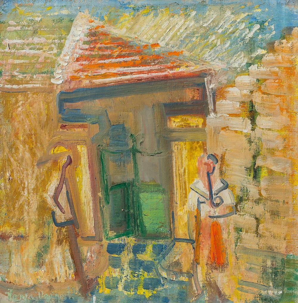 Ilosvai Varga István: Zöld kapu, 1967