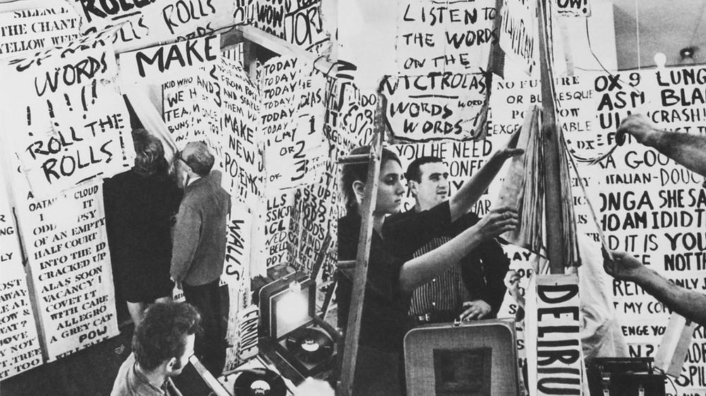 Allan Kaprow: Szavak, 1962